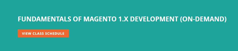 fundamentals of magento 1.x development
