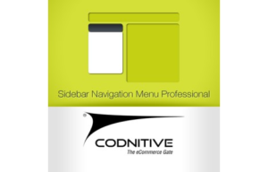 Sidebar Navigation Menu Professional