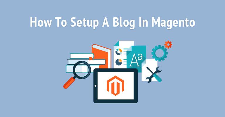 set up a blog