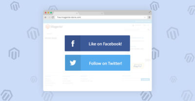 How To Add Social Buttons Into Magento Site
