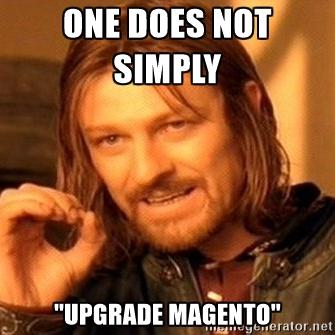 Upgrade Magento