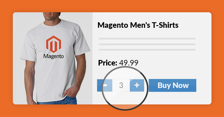 magento quantity increment buttons