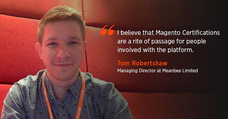 Interview With Tom Robertshaw