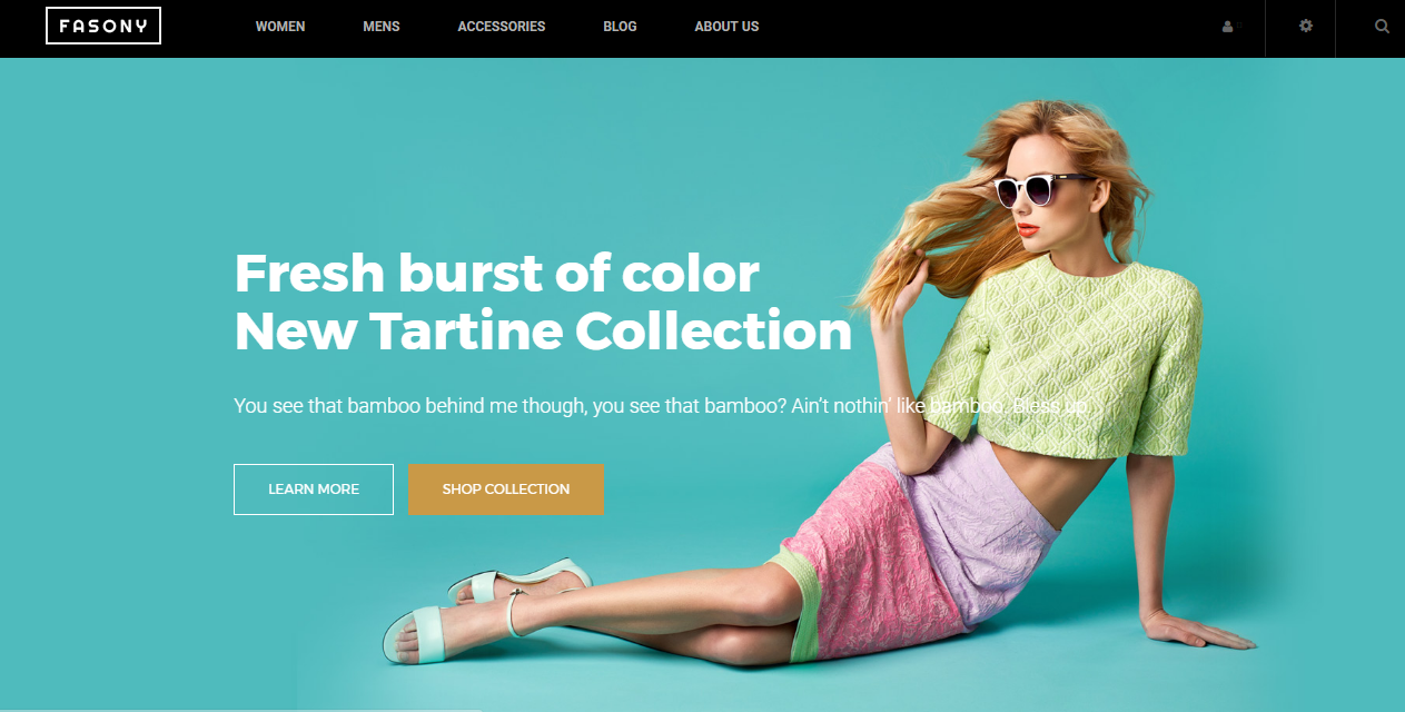 VES FASONY FREE THEME FOR MAGENTO 2