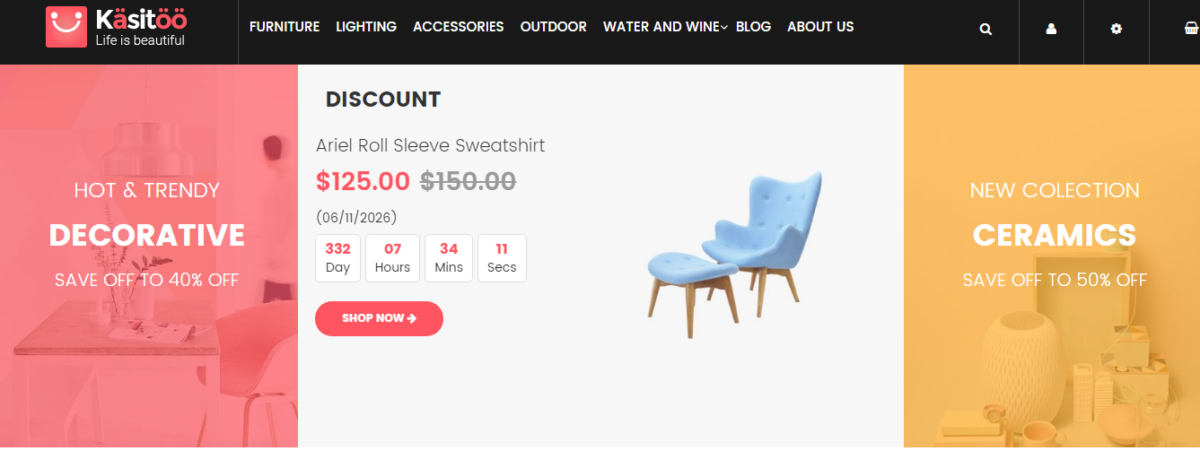 VES KASITOO-Free Magento 2 theme For Furniture Store, Decorative store