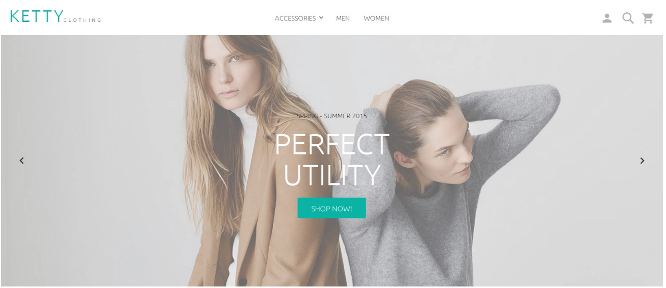 Ketty Beta - Free Magento 2 Theme