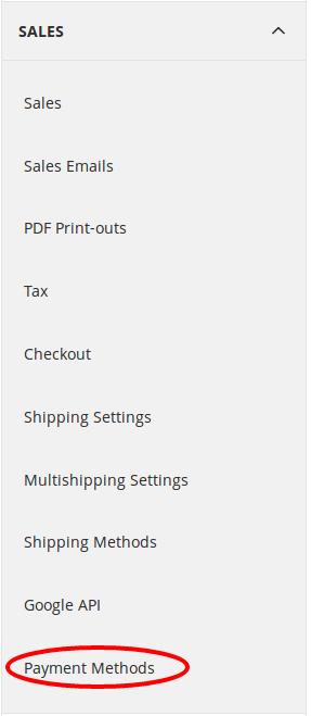 Sales-payment