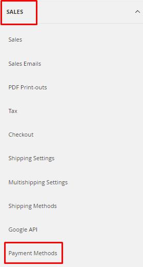 sales payment