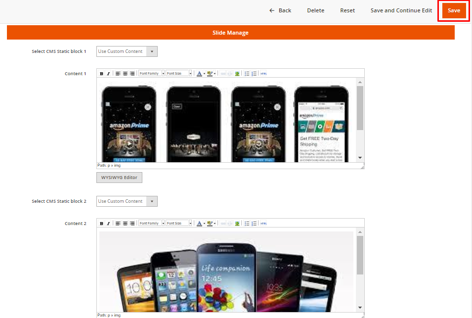 Customize Homepage of Magento 2 - Add Image Slider