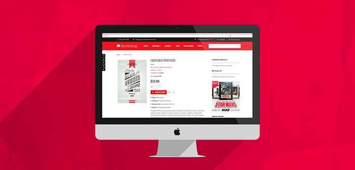 UB Bookshop magento 2 theme for bookstore