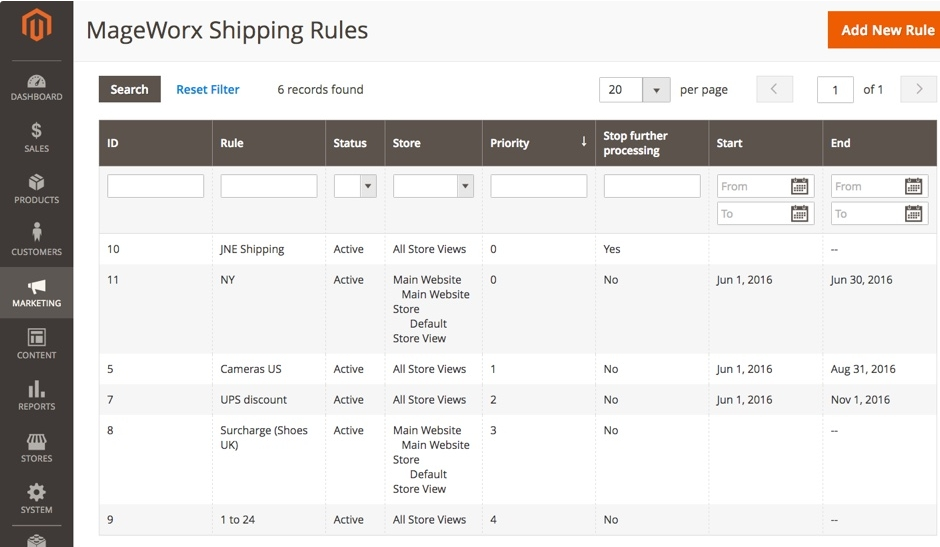 Shipping Rules and Restrictions 1