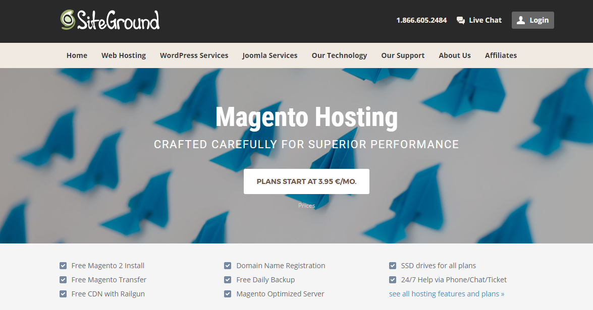 siteground magento shared hosting