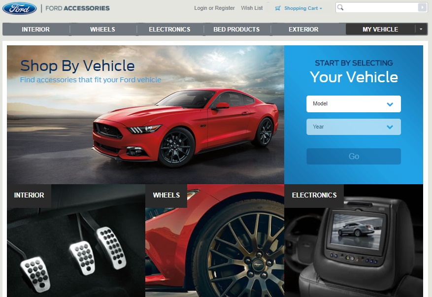 ford using magento