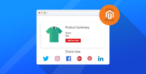 How to Add Social Share Buttons in Magento 2