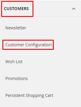 customers-customer config