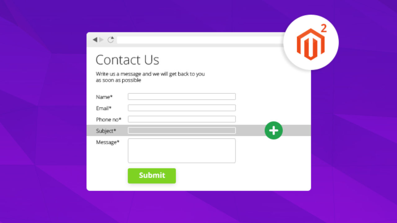How to Add Custom Fields to Magento 2 Contact Forms