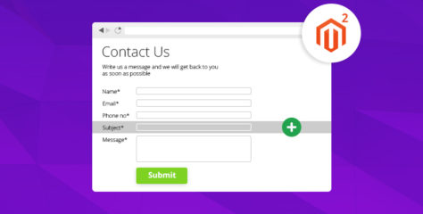 Add Custom Field(s) to Magento 2 Contact Page