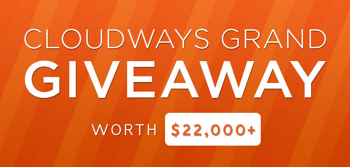giveaway cloudways