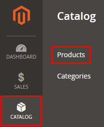 navigate catalog-products special price magento 2
