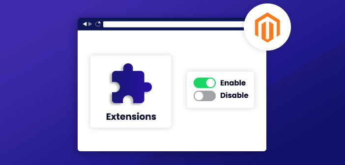 enable disable magento 2 extensions