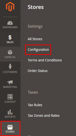 Stores-Configuration Magento 2 2FA