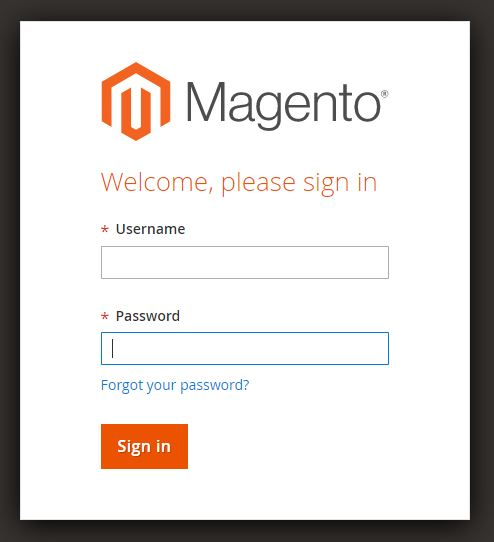 Magento Backend