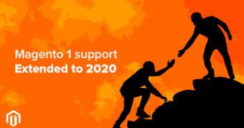 Magento 1 support extended till 2020