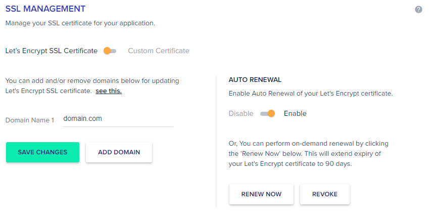 auto renew cloudways
