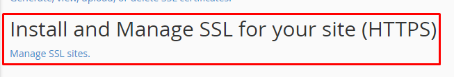 install ssl shared host