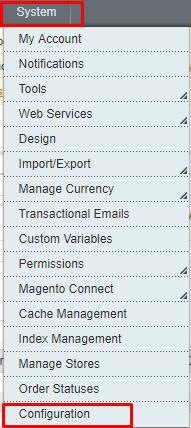 system-config magento checkout