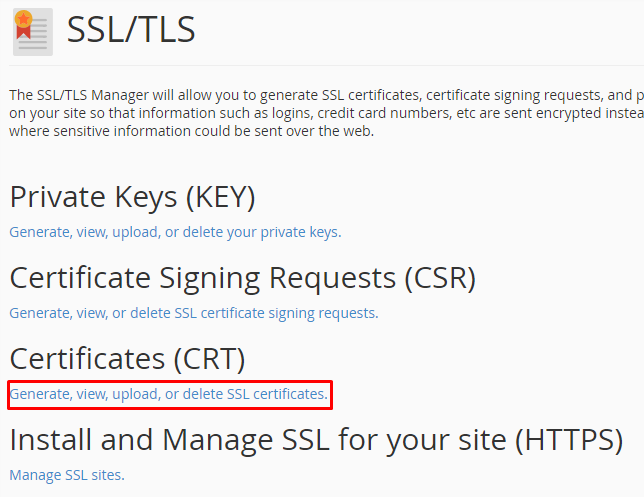 view lets encrypt ssl a2 host